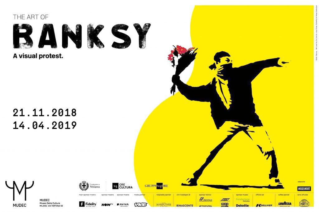 Exposition Banksy MUDEC Milan