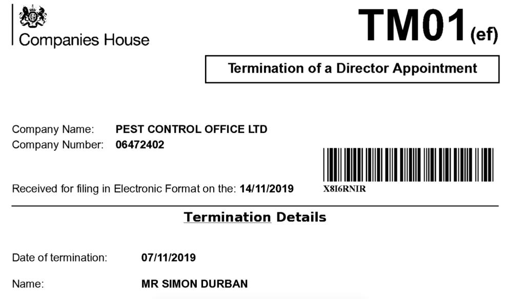 Simon Durban quitte Banksy