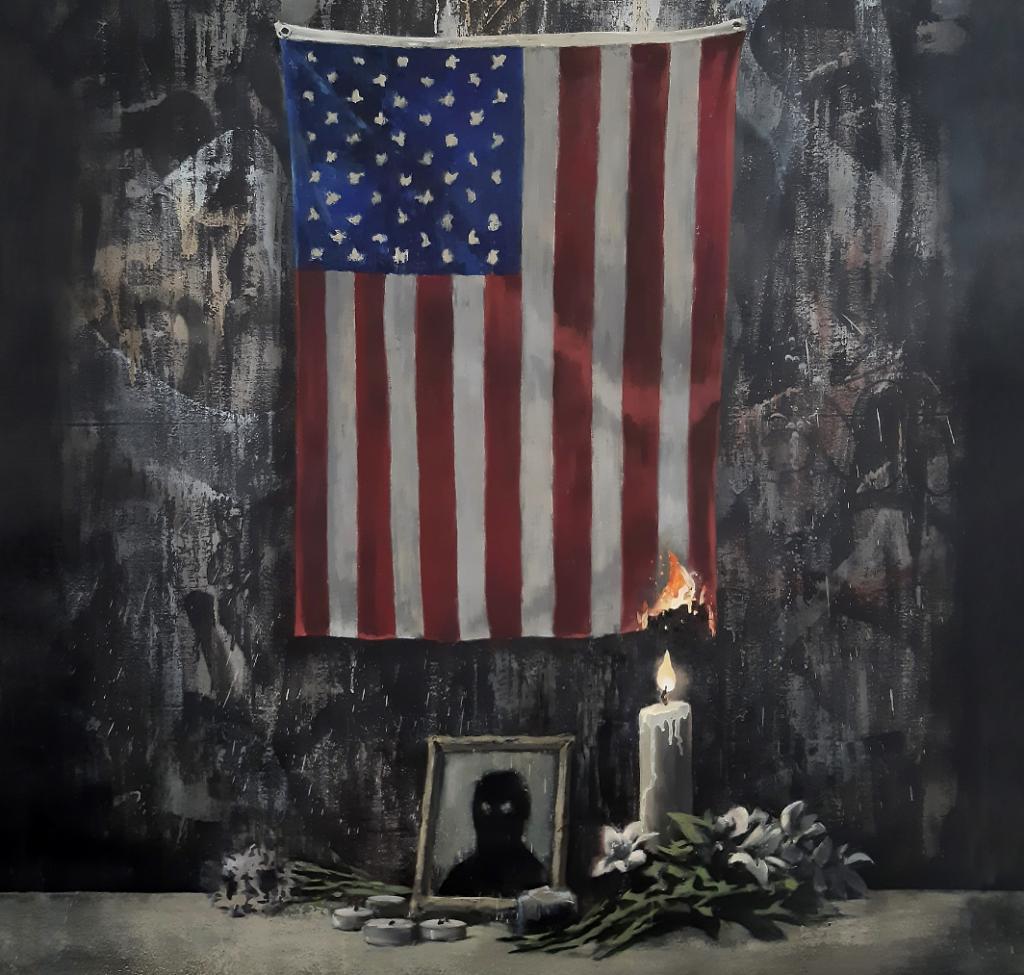 Banksy rend hommage à George Lloyd